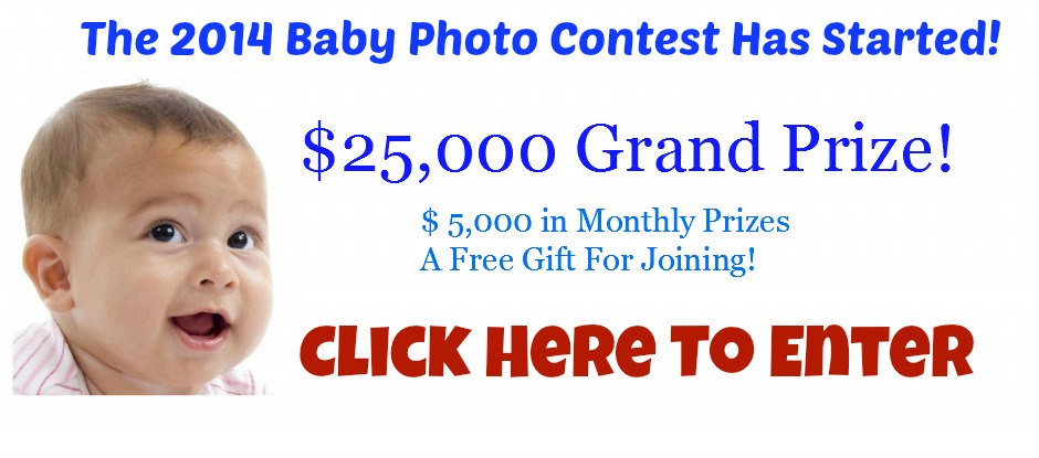 Before you enter any baby baby photo contest, review the rules, understand what the judges are looking for and then start taking pictures. Take lots and lots of pictures of your baby and then systematically review your pictures and select the one which you feel has the best chance of winning.